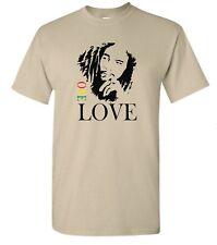 Bob Marley One Love Graphic T-Shirt Retro Vintage