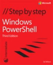 Step by Step: Windows PowerShell Step by Step by Ed Wilson (2015, Paperback)