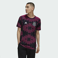 Adidas 2021-2022 Mexico Home Jersey - Black-Real Magenta