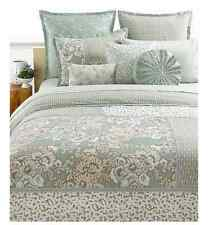 Style&co Pastiche 200T Reversible Full Queen Comforter Set Sage Taupe White