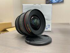 Tokina Cinema Vista 16-28mm MKI T3 Wide-Angle Zoom Lens (EF-Mount)