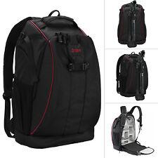 Kamerarucksack Fotorucksack SLR DSLR Fototasche mit Stativhalterung Regenschutz