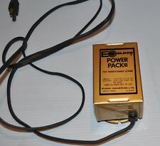 Eldon Power Pack Transformer #3400 1960s Canada