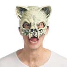 Cat Skull Mask Wasteland Mad Max Apocalypse Costume Scary Fossil Skeleton Animal