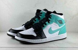 Nike Air Jordan 1 Mid Tropical Twist Igloo 554724-132 FREE SHIPPING
