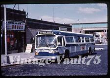 Duplicate Slide Bus 474 Club Transportation New York City 1974 Bronx