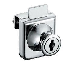 Cabinet Display Case Showcase Single Glass Door Lock