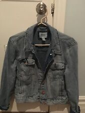 Forever21 light wash denim jacket size m