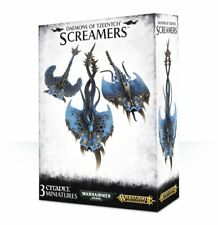 Screamers de Tzeentch 3 edad de Sigmar Caos de Warhammer 40K demonios aos