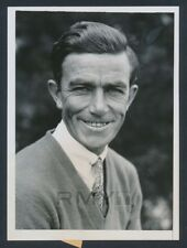 """1934 Johnny Farrell, """"Detailed Portrait Photo"""" Perfect 10/10!"""