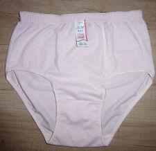 Damen Unterhose Slip Bundhöhe hoch Taillenslip Figurformend rosa  Gr. 44 - NEU