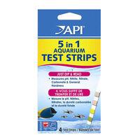 API 5 in 1 Test Strips Kit Aquarium PH Nitrate Nitrite GH KH 4 pcs