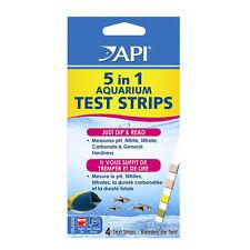 API 5 in 1 strisce di test kit ph acquario Nitrato Nitrito GH KH 4 PZ