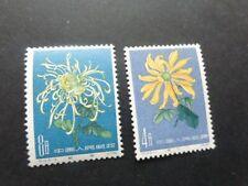 PRC CHINA Flowers Mint NH