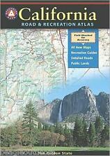 National Geographic Benchmark California Road & Recreation Atlas Map BE0BENCAAT
