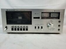 Vintage Kenwood Kx-530 Dolby Single Cassette Deck Tested Eb-3760