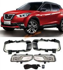 For Nissan Kicks 2017-2019 Halogen Front Bumper fog light assembly w/Bulb Switch