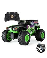 GRAVE DIGGER Remote Control Monster Jam Truck 1:15 Scale 2.4GHz Kids Toy Black