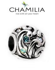 New genuine CHAMILIA 925 silver Disney MOANA ISLAND WAVES charm bead, holiday