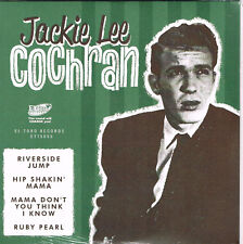 JACKIE LEE COCHRAN - RIVERSIDE JUMP, HIP SHAKIN' MAMA + 2 (Rockabilly) - NEW EP