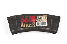 "S&M 20"" INNER TUBE 20 x 1.95-2.125/2.20/2.25/2.30 Schrader Valve Bicycle Tube"