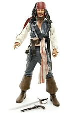 "Pirates of the Caribbean Curse of the Black Pearl JACK SPARROW 7"" Figure NECA"