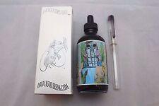 NOODLERS INK 4.5 OZ BOTTLE WATERASE BLACK WITH FREE PEN