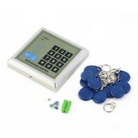 Electronic RFID Proximity Entry Door Lock Access Control System + 10 Key Fobs BE