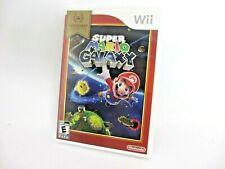 Nintendo Wii Super Mario Galaxy Case/Manual Included