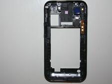 Samsung Galaxy Ace S5830 Mittel Schale Gehäuse Rahme Cover Original Neu schwarz