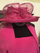 Ispirato by Condici Mother Of The Bride Races Complete Outfit & Hat Size 16 18