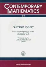 Number Theory: Ramanujan Mathematical Society January 3-6, 1996-ExLibrary