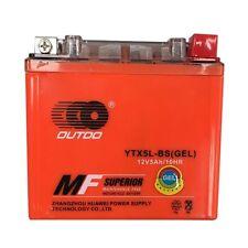 YTX5L-BS GTX5L-BS GEL Storage Battery For ATV Bikes Motorcycle Polaris Predator