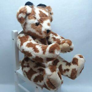 BearAnimal Collection *The Vermont Teddy Bear* Giraffe Pattern Jointed Vintage