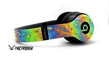 Custom Painted Beats by Dr Dre Oil Splatter Solo2 Wireless Bluetooth Headphones