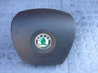 SKODA FABIA STEERING WHEEL AIR BAG 6Y0880201E