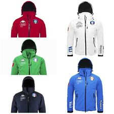 2017 ITALY SKI NATIONAL TEAM FISI AUDI 650 SNOW JACKET KAPPA SKI  302ZXL0