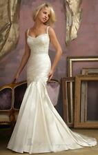 BNWT MORI LEE WEDDING GOWN DRESS STYLE 1857 SIZE 10 IN IVORY *RETAIL $1720*