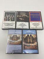 Mormon Tabernacle Choir  lot of 7 different cassettes -RARE COLLECTION! VINTAGE!