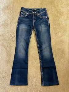 Silver Suki Boot Denim women jeans size 24