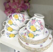 Vintage Royal Vale Teacups 1950s