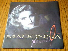 "MADONNA - LIVE TO TELL  7"" VINYL PS"