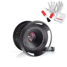 7artisans 25mm / F1.8 Prime Lens to Fuji Cameras W/46mm Vented Metal Lens Hood
