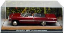 JAMES BOND COLLECTION CHEVY IMPALA 1963 OPEN - LIVE AND LET DIE- NIB