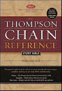 The Thompson Chain Reference Study Bible: Nkjv Personal Size by Frank...
