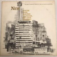 Great New Releases from the Sound Capitol of the World LP 1961 SINATRA Promo LP