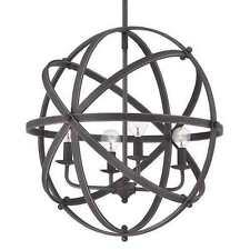 Savoy House 7-4353-4-13 Dias 4 Light Orb Pendant in English Bronze Finish