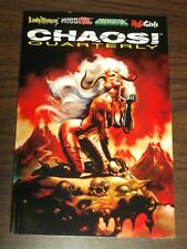 Chaos Quarterly #2 Lady Death Roboevil Cremator Bad Girls (Paperback 1996)<