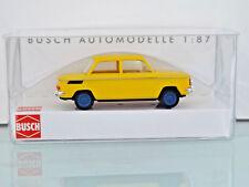 Busch 48415 - H0 1:87 - NSU 1000 TT, amarillo - Nuevo en EMB. orig.