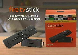 Genuine Amazon Fire TV Stick with Alexa Voice Remote (Includes TV Control) 2020